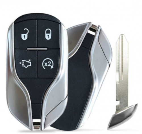For Maserati Ghibli Quattroporte remote key case