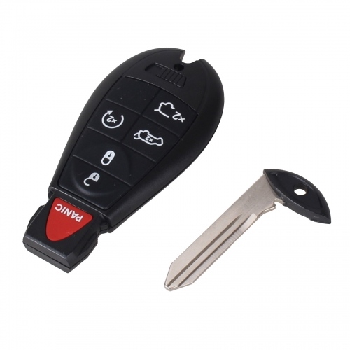 For Chrysler 5+1 button remote key shell