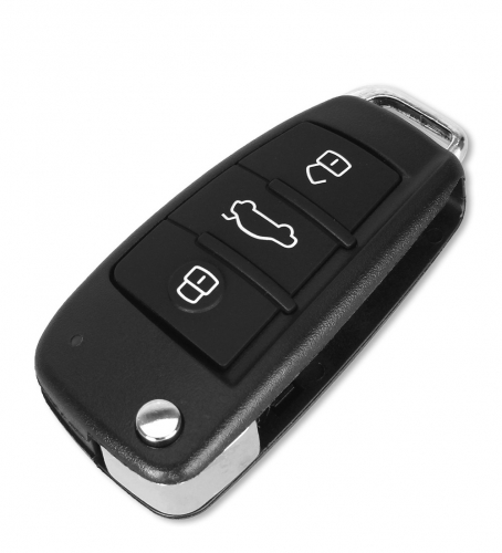 For Audi key shell 3 buttons for keydiy no blade