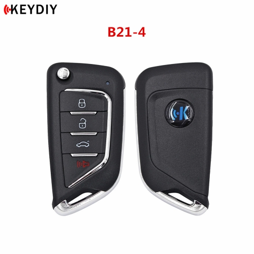 Universal Remote KEYDIY B Series B21-4 4 Button Key for KD900 URG200 KD-X2 Key Generator
