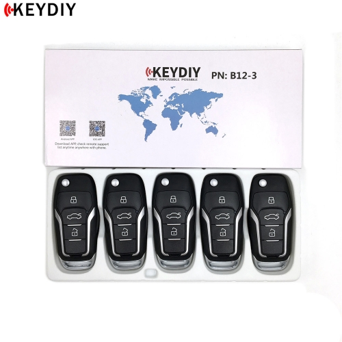 KEYDIY Original KD NB12-3 NB Series Universal Multi-function For KD900/MINI KD/URG200 /KD-X2 Key Programmer